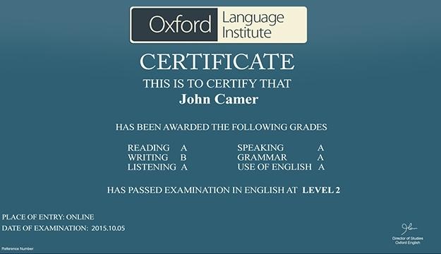 Off Months Online Oxford English Language Course By Oxford - Global language course