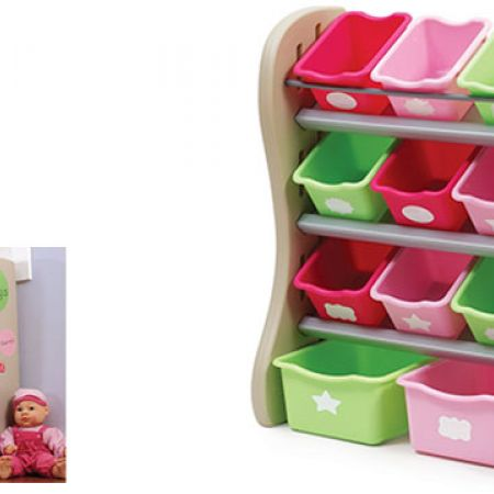 Step2 Pink Room Organizer And Toy Storage Makhsoom