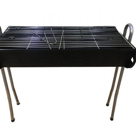 Simple Black Metal Barbecue Stove