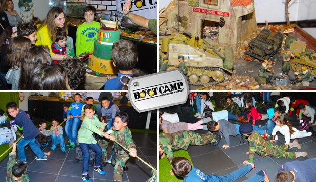 2-Hours Boot Camp Birthday Package For Up To Twenty Kids