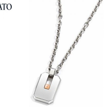 Morellato Urban Surgical Steel Necklace For Men