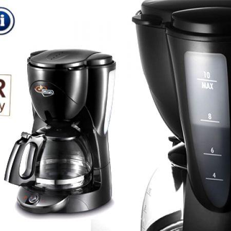Delonghi ICM2.1 Black 10-Cup Drip Coffee Machine 1000 W