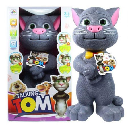Talking Tom Cat Toy Story tell Records Response Sing