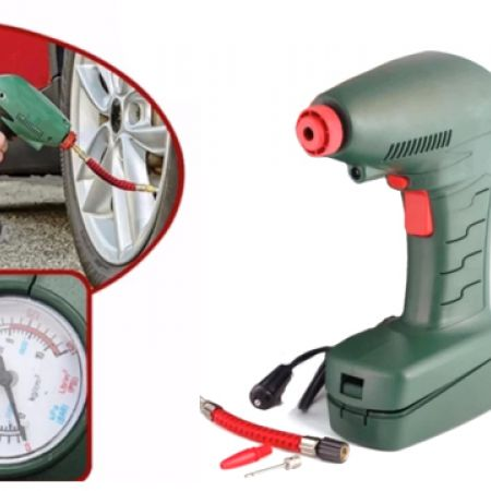 Air Dragon Powerful Portable Air Compressor With Built-In Led Light
