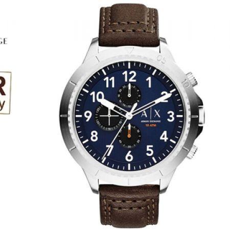 Armani Exchange Active Chronograph Round Watch For Men