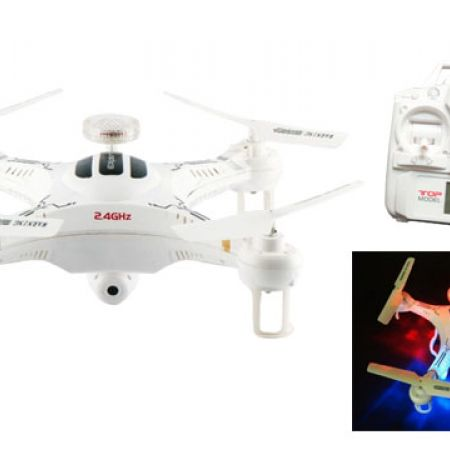 Terminator 105HV 2.4G 4CH 6 Axis Gyro RC Quadcopter With HD Camera RTF