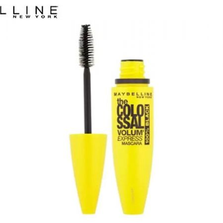 6d4f4aa362c Maybelline New York Volum' Express The Colossal Mascara 100% Black