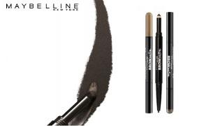 Maybelline New York Brow Satin Duo Eyebrow Pencil - Medium Brown