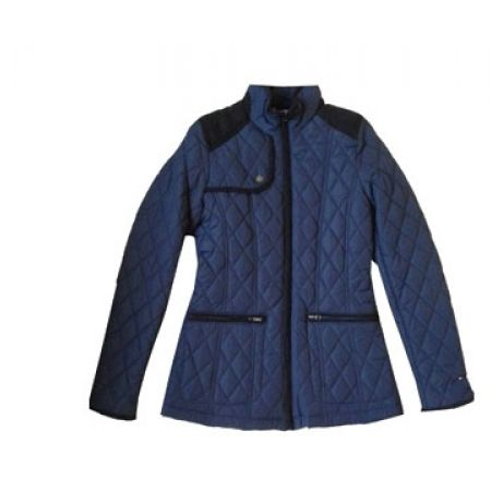 Tommy Hilfiger Navy Blue Two Pockets Jacket For Women Size: Small