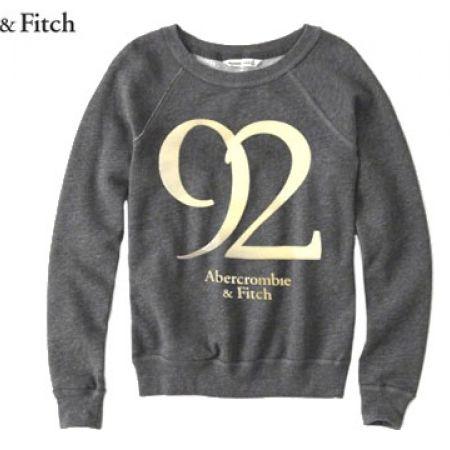 4eb36725a Abercrombie   Fitch Grey 92 Sweatshirt For Women Size  Small - Makhsoom