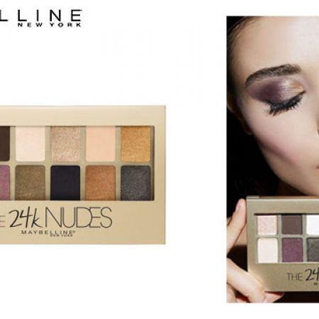 Maybelline New York 24 Karat Nudes Eyeshadow Palette 12 Colors