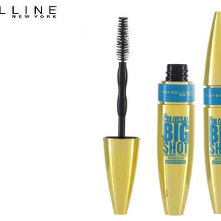 6d10508a5ca Maybelline New York The Colossal Big Shot Volum'Express Waterproof Mascara  Black