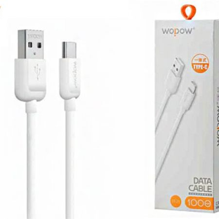 Wopow LT-25 Data Type-C Cable For iPhone 1m