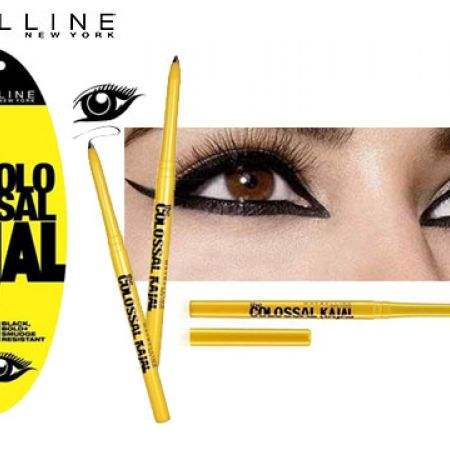 Maybelline New York Colossal Kajal 12 HR Extra Black Blister Eyeliner