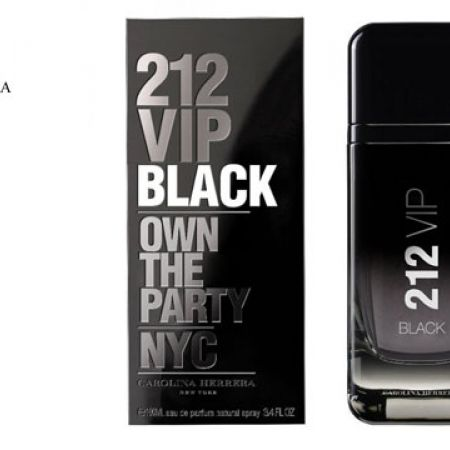 3cea127ab Carolina Herrera 212 VIP Black Eau De Parfum For Men - 50 ml - Makhsoom