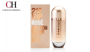 Carolina Herrera 212 Vip Rose NYC Eau de Parfum For Women - 50 ml