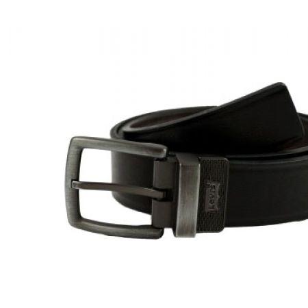 Levi's Black & Brown Big & Tall Reversible Leather Belt Size: 34 For Men