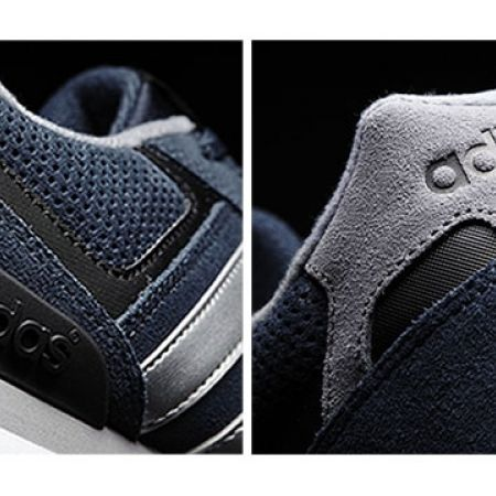 new product b0896 56cdd Adidas AW4677 Runeo 10k Navy Blue Shoes For Men