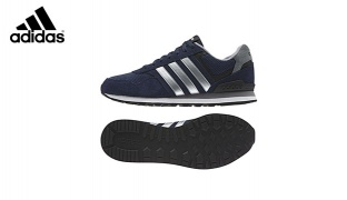Adidas AW4677 Runeo 10k Navy Blue Shoes For Men - Size: 44.5