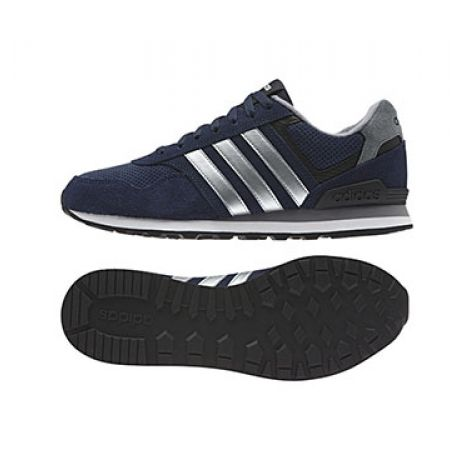 official photos 36593 74dc3 Adidas AW4677 Runeo 10k Navy Blue Shoes For Men - Size  44.5 - Makhsoom