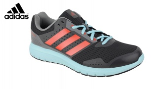 Adidas Sport Duramo 7 M B33553 Grey Red & Blue Shoes For Men - Size: 41