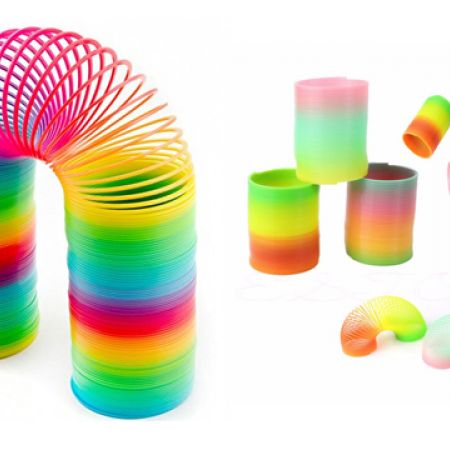 Set Of Plastic Rainbow Magic Spring 3 Pcs