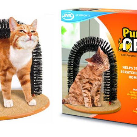 Purrfect Arch Groomer & Massaging Cat Toy