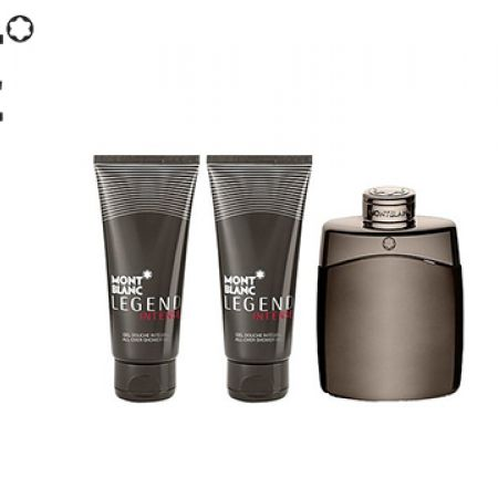 Mont Blanc Legend Intense 3 Pcs Gift Set EDT 100 ml After Shave 100 ml & Shower Gel 100 ml For Men