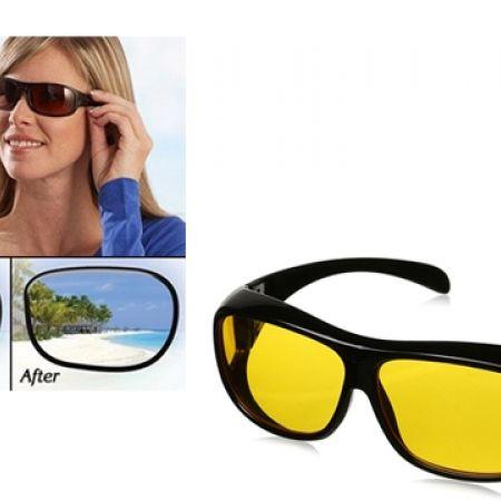Unisex HD Vision Night Anti-Glare Polarized UV Sunglasses