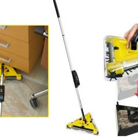 Cordless Twister Sweeper With 2 Batteries - Makhsoom