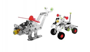 Metal Brick Meccano Construction Toy - ATV 106 Pcs