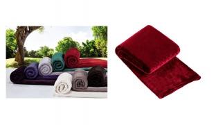 Manterol Casa Madoa Plaid Sofa Blanket 120 x 160 cm - Purple