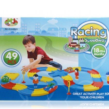 Racing Speedway Toy - 49 Pcs