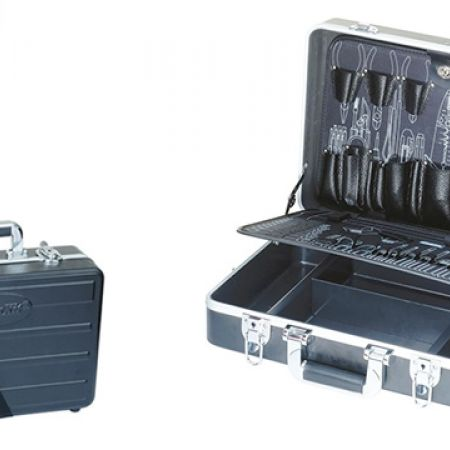 Proskit ABS Carrying Tool Case With 2 Pallets