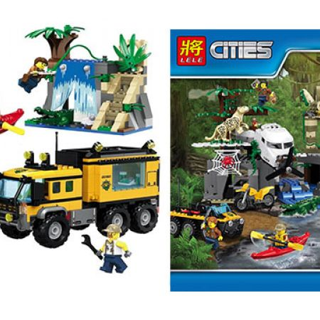Building Blocks Cities Series 460 Pcs