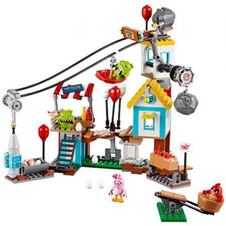 Building Blocks Angry Birds Pig City Teardown 400 Pcs