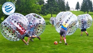 1-Hour Bubble Soccer For One