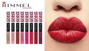 Rimmel Provocalips 16Hr Kissproof Lip Colour Gloss - 110 Dare To Pink