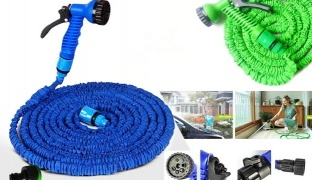 The Incredible Expanding Magic Hose - 22.5 m - Black
