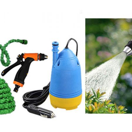 Portable Car Electric Pressure Washer With Water Gun + 10 m Special Hose Pipe + Submersible Pumps