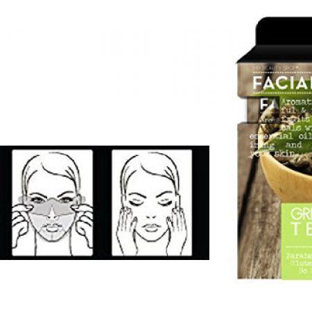 My Beauty Spot Green Tea Moisturizing Facial Masks 5 Packs