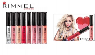 Rimmel Oh My Gloss Lip Gloss - 160 Stay My Rose
