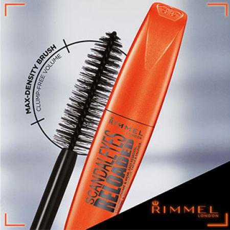 8cdf30451b8 Rimmel Scandaleyes Reloaded Mascara 001 Black - Makhsoom
