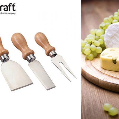KitchenCraft Cheese Knife Set 4 Pcs