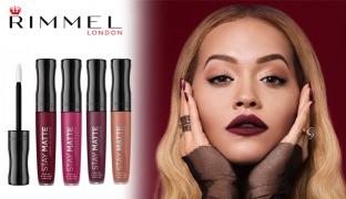 Rimmel Stay Matte Liquid Lip Colour - 100 Pink Bliss
