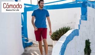 Comodo Bermuda Short Without Pleats For Men - Black - Size: 31