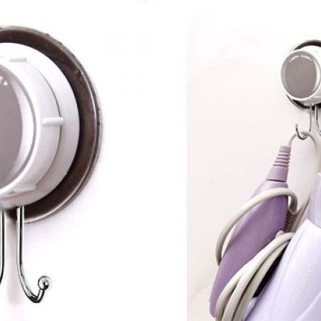 Super Powerful Double Mini Vacuum Suction Hooks