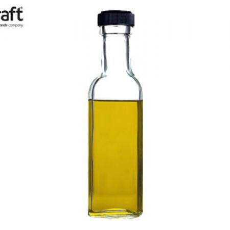 KitchenCraft Home Made Mini Glass Oil Bottle 100 ml