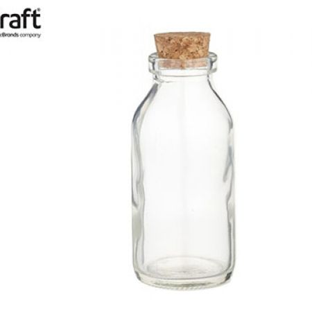 KitchenCraft Home Made Mini Glass Oil Bottle 120 ml