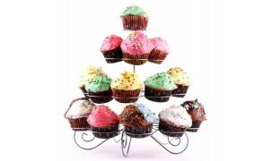 Cupcake Multi-Tiered Metal Cupcake Stand